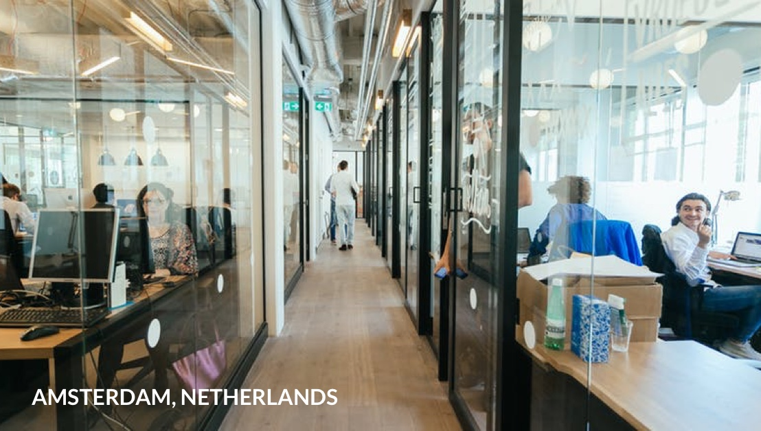 Our Amsterdam office